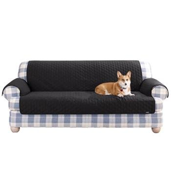 Sure Fit Furniture Friend Black Loveseat Protector