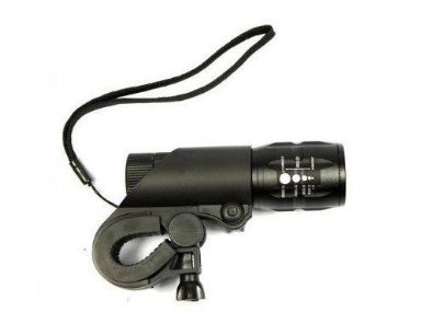 Intsun®Q5 Cree 240 Lumen Led Bike Bicycle Headlight Torch And Bike Holder Super Bright!!!!