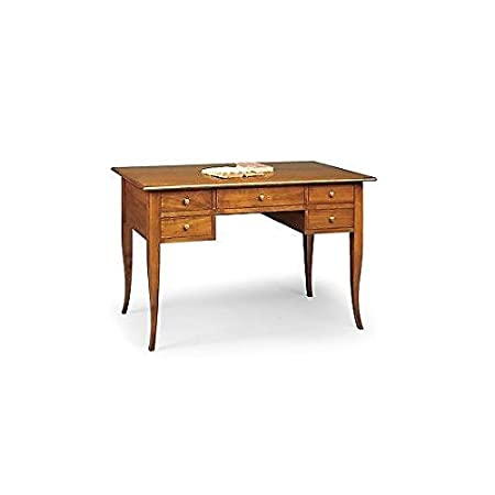 Table Desk Console Wood Desk cm 150 COL NOCE Product Veneto