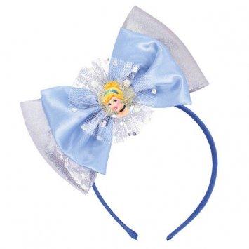 "Amscan Cinderella Deluxe Disney Princess Headband, Blue, 6 1/2"" x 8 1/2"" - 1"