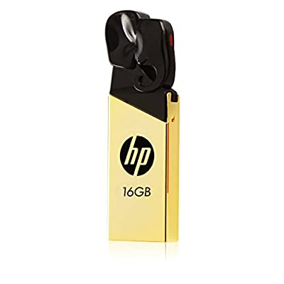 HP v239g 16GB USB Flash Drive (Gold Metallic)