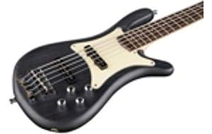 Warwick German Pro Series Streamer CV 5-String Electric Bass Guitar Nirvana Black Oil