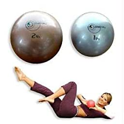 Pilates Weighted Ball Pair, 1 lb each