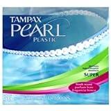 Tampax Pearl Plastic Super 36'S Fresh Scent 36 ea