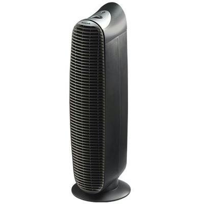New Kaz Inc Honeywell Hepaclean Hht-081 Tower Air Purifier 13ft X 13ft Black Silver Mold Spores