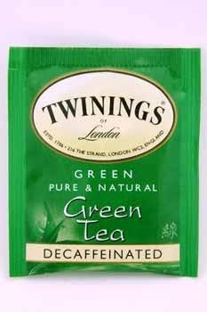 Twinings Of London Green Tea Decaffeinated Case Pack 120