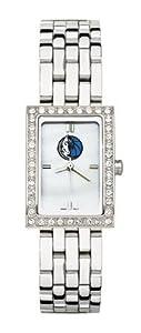 Dallas Mavericks Ladies Allure Sterling Silver Watch Bracelet by Logo Art