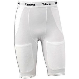MCDAVID 750T 5 POCKET FOOTBALL GIRDLE WHITE ADULT SMALL [Misc.] mcdavid 6566 compression arm sleeves