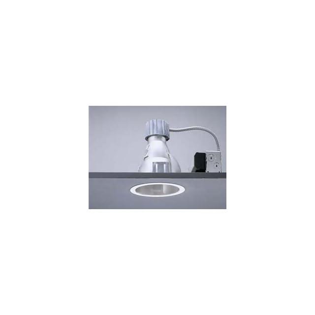 Lightolier S6132BUS Calculite 6 Inch 26/32W Triple Tube CFL Frame In Kit, 120 277V