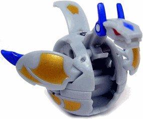 Bakugan New Vestroia Bakuneon SERIES 2 Figure Luminoz [Grey]
