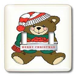 Florene Christmas - Cute Teddy Bear With Merry