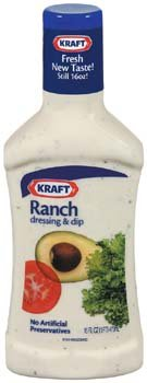 Kraft Ranch Salad Dressing & Dip 16 oz