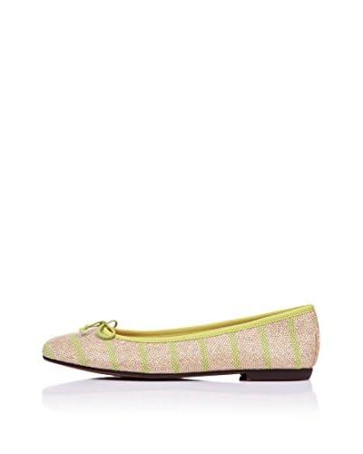Bisue Ballerina grün/beige EU 36