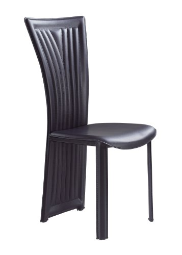 Global Furniture Dining Chair, 1513Dc, Black front-10631