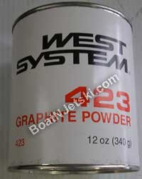 New Graphite Powder west System 423 12 oz.