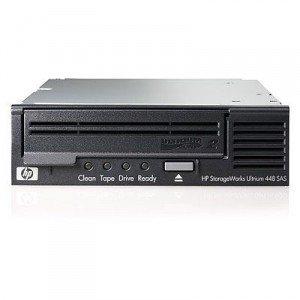 HP Ultrium 448 SAS Internal Tape Drive; 400 Compressed 2:1 GB; 64; Included; 173 Gbit/s; 3 Gb/sec SAS; 213 x 41.5 x 148 mm; 1.45 kg (DW085B)