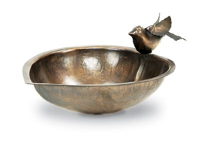 Achla Designs Heart Shaped Birdbath and Feeder