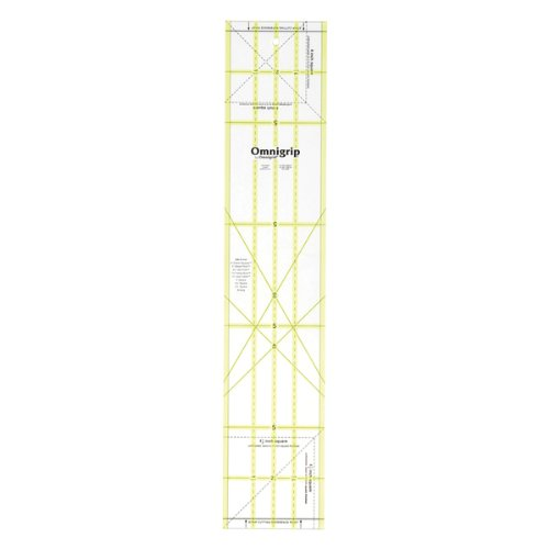 Omnigrip 5-Inch-by-25-Inch Non-Slip Quilter's Ruler