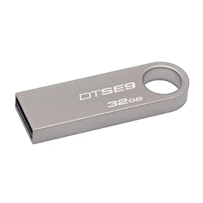 Kingston Data Traveler SE9 32GB USB DRIVE-Silver