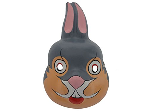 Bunny Rabbit Paper Pulp Mask Party Costume