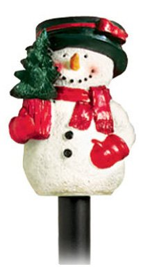 Lumisol Electrical Rs-9024 22-Inch Solar Poly Resin Snowman Light With Stake