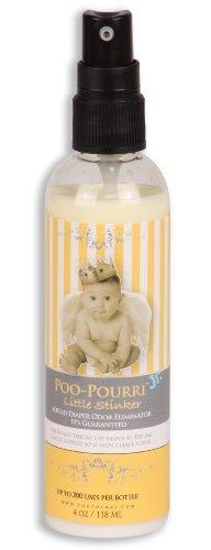 Poo-Pourri Jr. Little Stinker Diaper Deodorizer Spray 4Oz Spray By Poo-Pourri