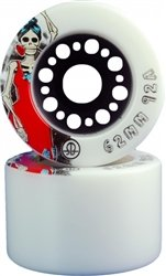 Skate Out Loud Roller Bones Day Of The Dead Quad Skate Wheels by Roller Bones Day Of The Dead