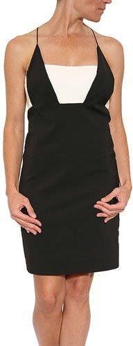 Nicole Miller Women's Techy Cut Out Dress Black Size 4