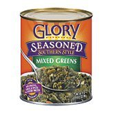 Glory Foods Mixed Greens Seasoned, 27 oz (Prime Pantry Canned Meat compare prices)