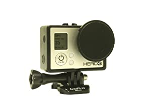 "Neutral Density Glass Filter-3 stop reduction-For use with GoPro Hero3 ""Frame"" Housing"