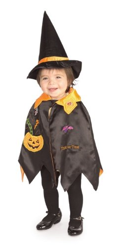 Rubie's Toddlers 'Pumpkin Witch' Halloween Costume