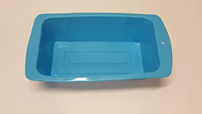 Silicone4lessTM Commercial Grade Kitchen Non Stick Silicone Bread Loaf Pan - Great for cakes, casseroles, soap, etc