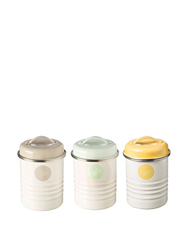 Typhoon Vintage Americana Tea, Coffee, Sugar Storage Set 0