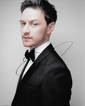 James Mcavoy Signed Photograph