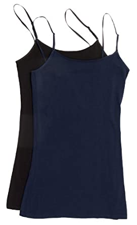8e482b44f8ae1 Zenana Women s Tank Top Camisole with Built in Bra and Adjustable Straps