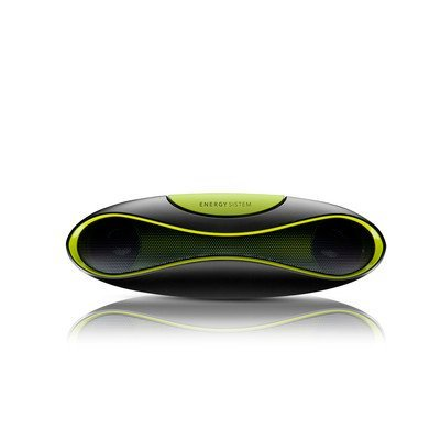 Shopping!: Energy System Music Box Z220 - Radio MP3 portátil, color negro y verde