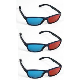 314c4xYnt2L Polar Express 3D Glasses for 3D DVD 3 Pair, Plastic Extra upgrade Anaglyph