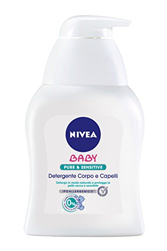 Nivea Baby Care & Cleansing Pure&Sensitive Detergente Delicato Corpo & Capelli 250Ml
