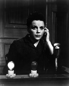 Judy Garland Talking On Radio, Microphone, Lights #113 - 8X10 Photograph High...