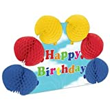 Happy Birthday Pop-Over Centerpiece Party Accessory (1 count) (1/Pkg)