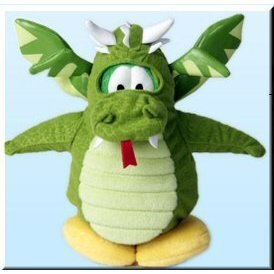 Picture of Jakks Pacific Disney's Club Penguin Plush Figure - Series 2 - DRAGON (B001ORMRHC) (Jakks Pacific Action Figures)