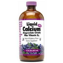 Bluebonnet Nutrition - Liquid Calcium Magnesium Citrate Plus
