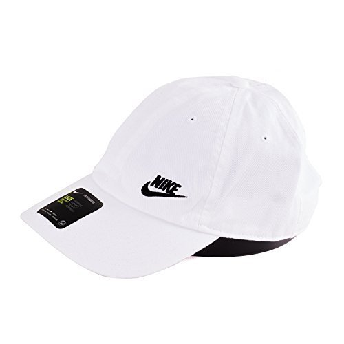 Nike Womens Futura Classic H86 Hat (Color  White Black 4a856799b024