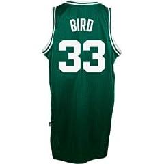 Boston Celtics #33 Larry Bird NBA Soul Swingman Jersey, Green by adidas