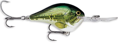 Rapala Dives-To 06 Fishing lure, 2-Inch, Baby Bass