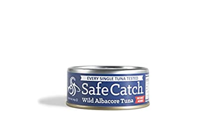 Safe Catch Wild Albacore Tuna - No Salt Added - 12 pack by Safe Catch