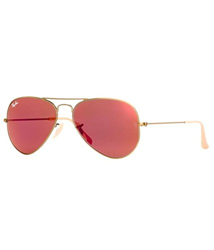 Ray-Ban RB3025 167/2K Medium Size 58 Aviator Sunglasses