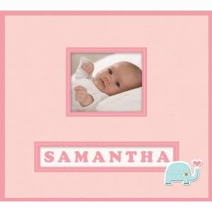 FRAME A NAME SCPBOOK BABY GIRL Papercraft, Scrapbooking (Source Book)