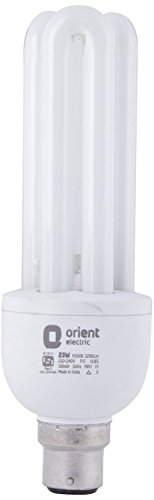 22 Watt CFL Bulb (White, Pack of 2)