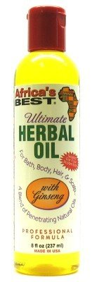 Africa's Best Ultimate Herbal Oil 8 oz. (Pack of 2)